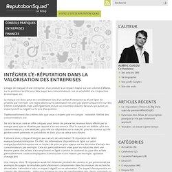 Intégrer l'E-réputation dans la valorisation des entreprises « R