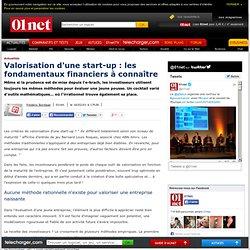 Valorisation d'une start-up: les fondamentaux financiers à connaître