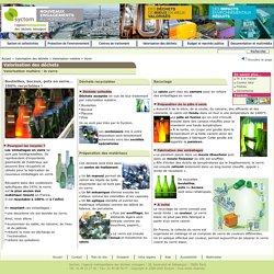 Valorisation matière le recyclage du verre - Valorisation des déchets