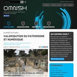 Valorisation du patrimoine et numérique