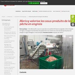 Valorisation des sous-produits de la mer chez Mericq