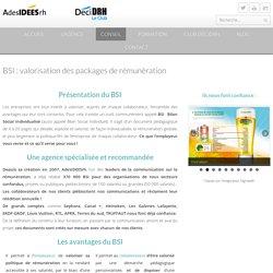 BSI: Valorisation des packages de rémunération - AdesIDEESrh