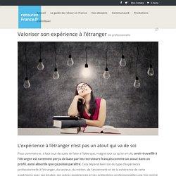 Valoriser son expérience à l'étranger - Retour en France