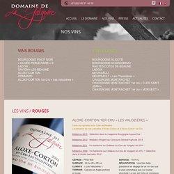 ALOXE-CORTON 1er Cru «Les Valozières» - Domaine de la Galopière