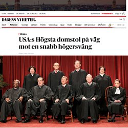 Efter Donald Trumps valseger: Högsta domstolen i USA på väg att bli konservativ