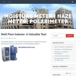 Melt Flow Indexer