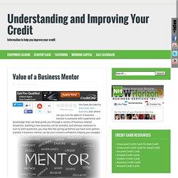 finding a business mentor