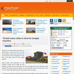 12 best-value cities in Asia for budget travelers