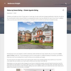 Value my home Ealing – Estate Agents Ealing