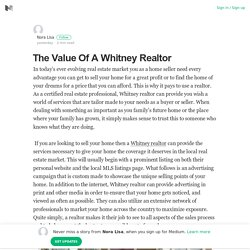 Whitney Realtor