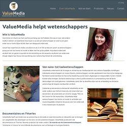 helpt wetenschappers - ValueMedia