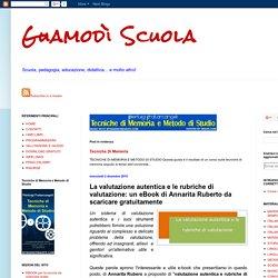 La valutazione autentica e le rubriche di valutazione: un eBook di Annarita Ruberto da scaricare gratuitamente