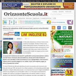Sistema di valutazione della scuola in Italia ancora senza identità