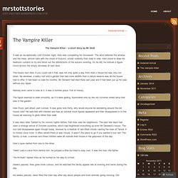 The Vampire Killer « mrstottstories
