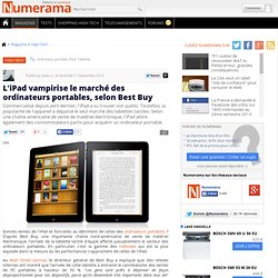 L'iPad vampirise le marché des ordinateurs portables, selon Best Buy