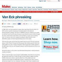 Van Eck phreaking