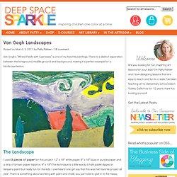 Van Gogh Landscape Art Lesson