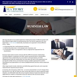 Our business law lawyers are here to help you with the best legal support needed for your business. Get in touch with us in Vancouver, Surrey, Abbotsford, Burnaby, Coquitlam, or Westminster BC.: