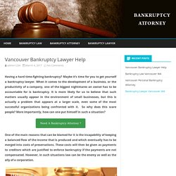 Vancouver Bankruptcy Lawyer