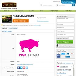 Pink Buffalo Films - Film Production