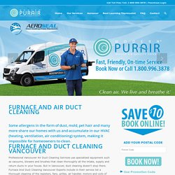 Furnace And Duct Cleaning Vancouver