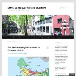 SUNN Vancouver Historic Quartiers
