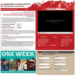 Vancouver Film School - Results Matter