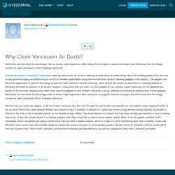 Why Clean Vancouver Air Ducts?: vanmodernpurair