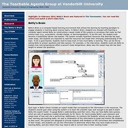 The Teachable Agents Group @ Vanderbilt University