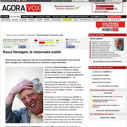 Raoul Vaneigem, le visionnaire oublié