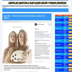 Agen Bola - Sheila Marcia dan Vanesha Melodya Lakukan Foto Topless
