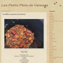 Lentilles saucisses (Cookeo)
