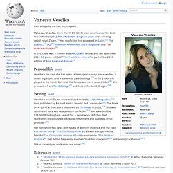 Vanessa Veselka