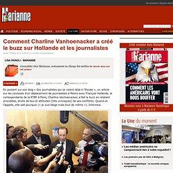 Comment Charline Vanhoenacker a créé le buzz sur Hollande et les journalistes