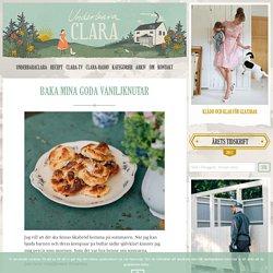 Baka mina goda vaniljknutar - Claras recept, Fika & Bakat - UnderbaraClara