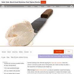Vanilla Malt Frosting Recipe