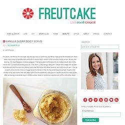 Vanilla Sugar Body Scrub - freutcake