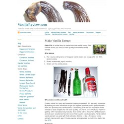 Make Vanilla Extract