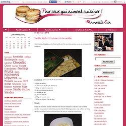 Vanille Kipferl (croissants à la vanille)