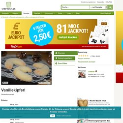 Vanillekipferl (Rezept mit Bild) von Chililinde