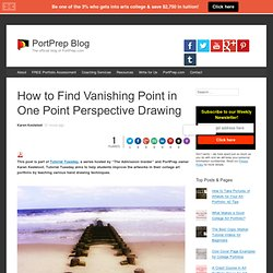 How to Find Vanishing Point in One Point Perspective Drawing