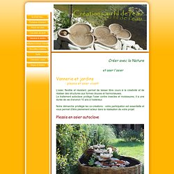 Vannerie & Jardins - crea-ardeche
