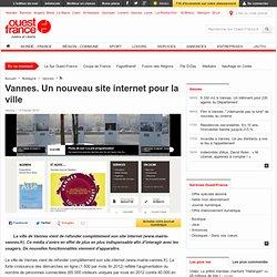 Vannes. Un nouveau site internet pour la ville - Vannes - Multimédia et nouvelles technologies