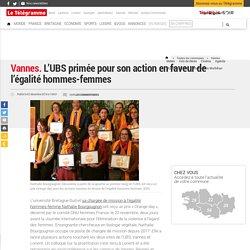 Vannes. L'UBS primée pour son action en faveur de l'égalité hommes-femmes - Vannes
