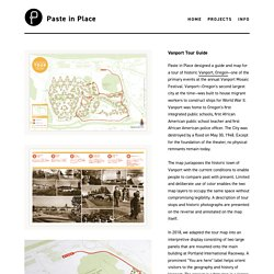 Vanport Tour Guide - Paste in Place