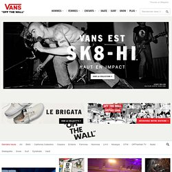 Vans.com Skate Shoes, Girls, Apparel, Kids, Skateparks, Contests, Music and more!