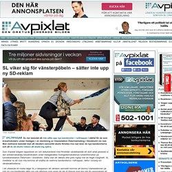 SL viker sig för vänsterpöbeln – sätter inte upp ny SD-reklam « Avpixlat
