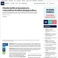 Hindut juhlivat jumalatarta vantaalaisen koulun jumppasalissa - Vantaa - Kaupunki - Helsingin Sanomat