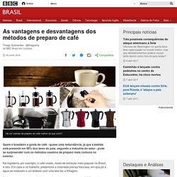 As vantagens e desvantagens dos métodos de preparo de café - BBC Brasil