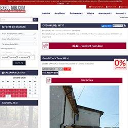 Casa-267 m² + Teren 300 m² - vanzare/lichidare/executare in Sector 3